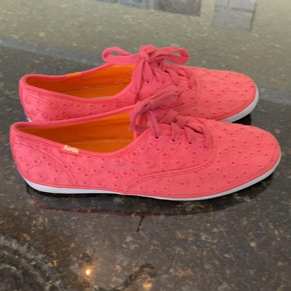 Keds Coral Eyelet Sneakers Sz 8